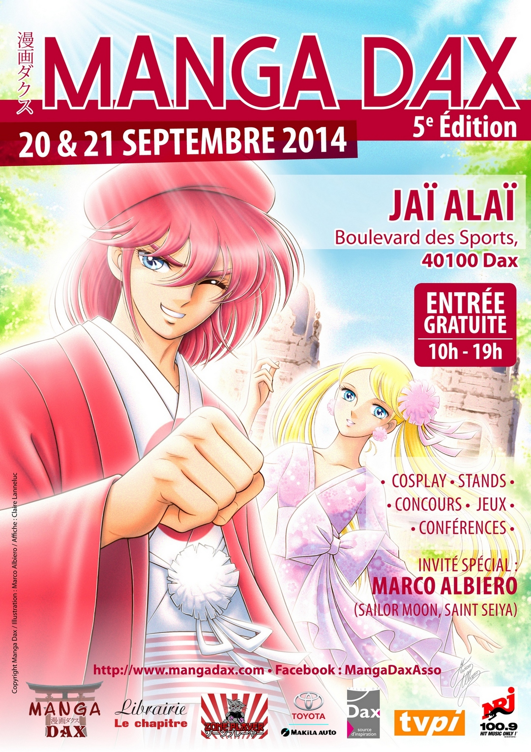 concours dessin manga herblay